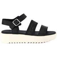 Shoes Women Sandals Frau HORIZON FORATO Nero