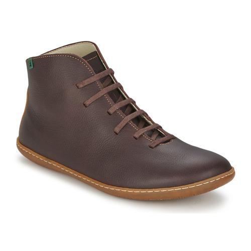 Shoes Men Mid boots El Naturalista EL VIAJERO Brown