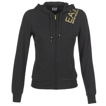 Clothing Women sweaters Emporio Armani EA7 MOKALO Black
