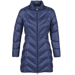 Clothing Women Duffel coats Emporio Armani EA7 CHOLAVO Blue