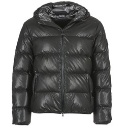 Clothing Men Duffel coats Emporio Armani EA7 PAPILOKO Black