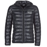 Clothing Men Duffel coats Emporio Armani EA7 ANDOURALO Black