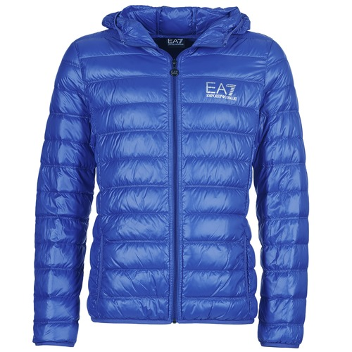 Clothing Men Duffel coats Emporio Armani EA7 ANDOURALO Blue
