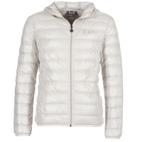 Clothing Men Duffel coats Emporio Armani EA7 ANDOURALO White