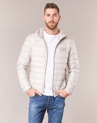 Clothing Men Duffel coats Emporio Armani EA7 ANDOURALO White