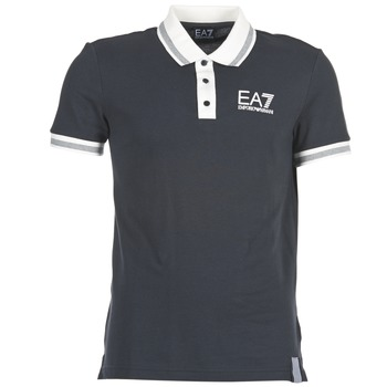 Emporio Armani EA7  OKOLAMI  mens Polo shirt in blue