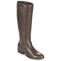 Shoes Women High boots Ralph Lauren MARRONA Brown