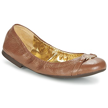 Shoes Women Flat shoes Lauren Ralph Lauren BETHENNY Cognac