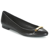 Shoes Women Flat shoes Ralph Lauren FARREL-FLATS-CASUAL Black