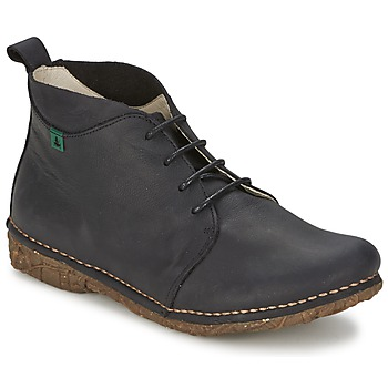 Shoes Women Mid boots El Naturalista ANGKOR Black