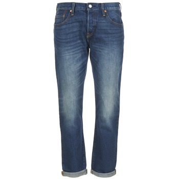 Clothing Women Boyfriend jeans Levi's 501 CT Roasted / Indigo