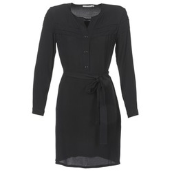 Clothing Women Short Dresses See U Soon SANTINE Black