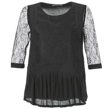 Clothing Women Tops / Blouses See U Soon SATURNIN Black