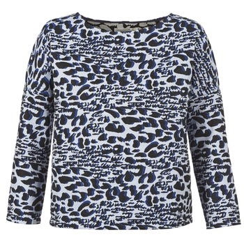 Clothing Women jumpers See U Soon SAVERIA Grey / Black / Blue