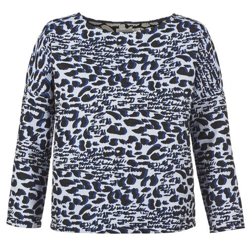 Clothing Women jumpers See U Soon SAVERIA Grey / Black / Blue