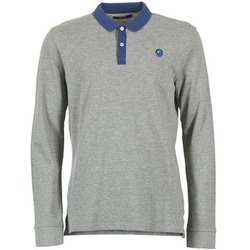 Clothing Men long-sleeved polo shirts Gaudi SOUXAN Grey