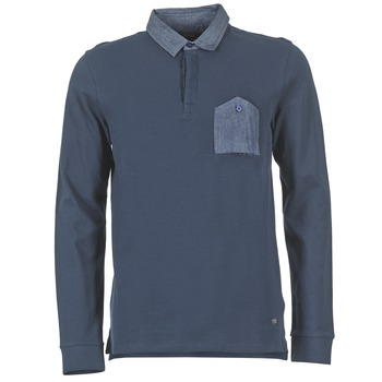Clothing Men long-sleeved polo shirts Gaudi SOUXIN Marine
