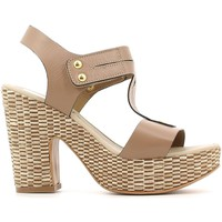Shoes Women Sandals Grace Shoes 53522 High heeled sandals Women Taupe Taupe