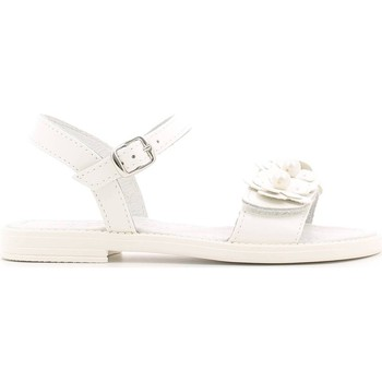 Shoes Girl Sandals Lulu' Lulu' LT080059L Sandals Kid Bianco Bianco