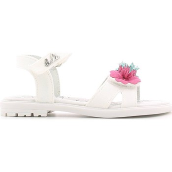 Shoes Girl Sandals Lulu' Lulu' LT260003T Sandals Kid Bianco Bianco