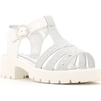 Shoes Girl Sandals Didiblu 2881 Sandals Kid Silver Silver