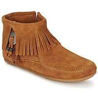 Shoe boots Minnetonka CONCHO FEATHER SIDE ZIP BOOT