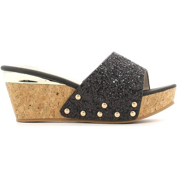 Shoes Women Clogs Laura Biagiotti 982 Sandals Women Nero