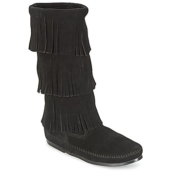 High boots Minnetonka CALF HI 3 LAYER FRINGE BOOT