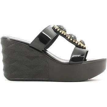 Shoes Women Sandals Susimoda 154190 Wedge sandals Women Black Black