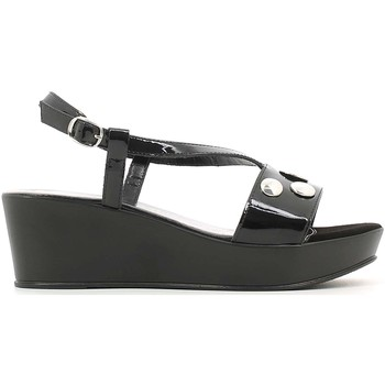 Shoes Women Sandals Susimoda 256165 Wedge sandals Women Black Black