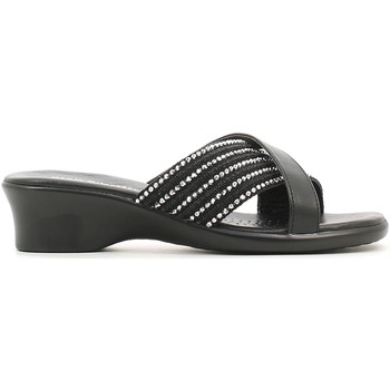 Shoes Women Mules Grace Shoes 502 Sandals Women Black Black