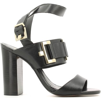 Shoes Women Sandals Grace Shoes 22-87140 High heeled sandals Women Black Black