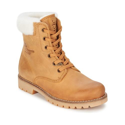 Shoes Women Mid boots Panama Jack PANAMA HONEY