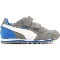 Shoes Low top trainers Puma 359088 Sport shoes Kid Grey Grey