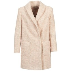 Clothing Women coats Naf Naf APPLE Beige