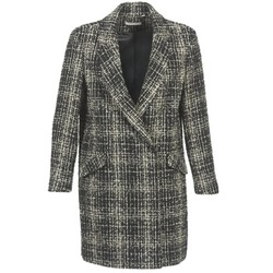 Clothing Women coats Naf Naf ADOUCE Grey