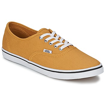 Shoes Low top trainers Vans AUTHENTIC LO PRO Mustard / True / White