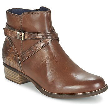 Shoes Women Mid boots Tamaris ISTRA HAZELNUT