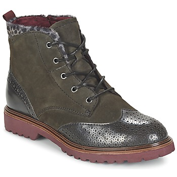 Shoes Women Mid boots Tamaris SOROLA Grey