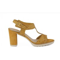 Shoes Women Sandals Melluso SANDALO ESTER Giallo