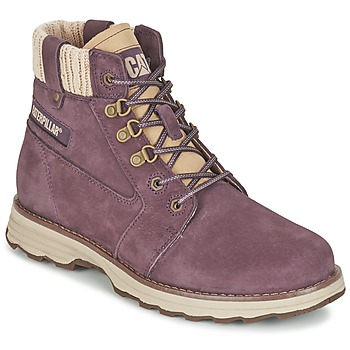 Shoes Women Mid boots Caterpillar CHARLI Green
