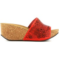 Shoes Women Clogs Grunland CB1634 Sandals Women Red Red