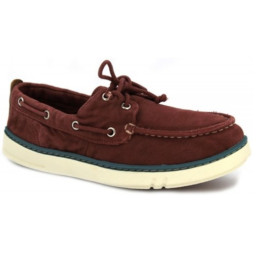 Shoes Men Boat shoes Timberland Hookset Handcrafted red