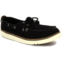 Shoes Men Boat shoes Timberland Hookset Handcrafted black
