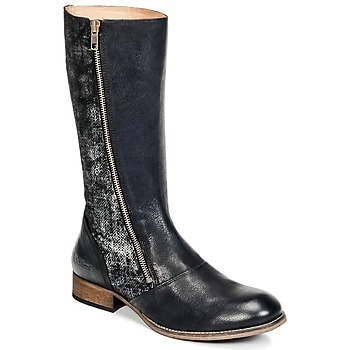 Shoes Women High boots Kickers PENNYHO Black / Brillant