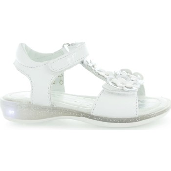 Shoes Girl Sandals Primigi Edna Nappa Soft Bianco White