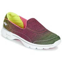 Low top trainers Skechers GO WALK 3 AURA