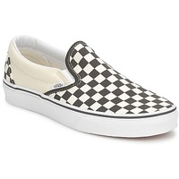 Shoes Men Slip-ons Vans CLASSIC SLIP ON Black / White