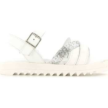 Shoes Girl Sandals Lulu' Lulu' LT320002L Sandals Kid Bianco Bianco