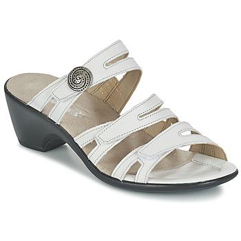 Shoes Women Mules Romika Gorda 01 White